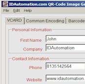 Encode URL in QR-Code | Free Generator